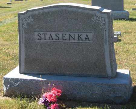 STASENKA, FAMILY MONUMENT - Saline County, Nebraska | FAMILY MONUMENT STASENKA - Nebraska Gravestone Photos