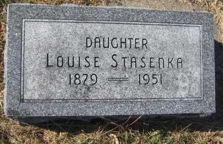 STASENKA, LOUISE - Saline County, Nebraska   LOUISE STASENKA - Nebraska Gravestone Photos