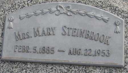 STEINBROOK, MARY - Saline County, Nebraska   MARY STEINBROOK - Nebraska Gravestone Photos