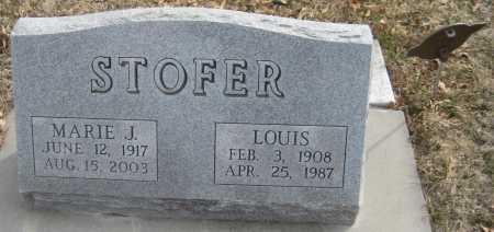 STOFER, LOUIS - Saline County, Nebraska | LOUIS STOFER - Nebraska Gravestone Photos