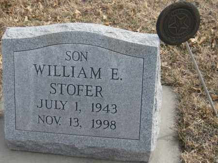 STOFER, WILLIAM E. - Saline County, Nebraska | WILLIAM E. STOFER - Nebraska Gravestone Photos