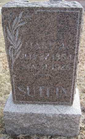SUTFIN, MARY A. - Saline County, Nebraska | MARY A. SUTFIN - Nebraska Gravestone Photos
