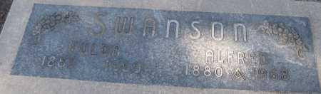 SWANSON, HULDA - Saline County, Nebraska   HULDA SWANSON - Nebraska Gravestone Photos