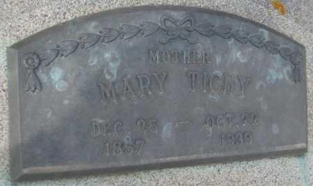 TICHY, MARY - Saline County, Nebraska | MARY TICHY - Nebraska Gravestone Photos
