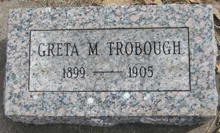 TROBOUGH, GRETA M. - Saline County, Nebraska | GRETA M. TROBOUGH - Nebraska Gravestone Photos
