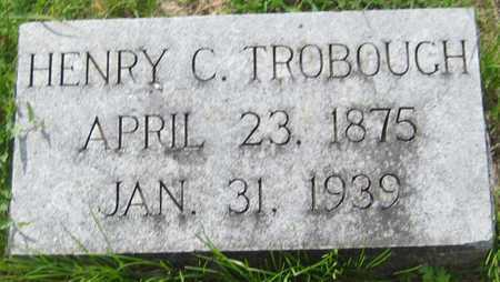 TROBOUGH, HENRY C. - Saline County, Nebraska | HENRY C. TROBOUGH - Nebraska Gravestone Photos