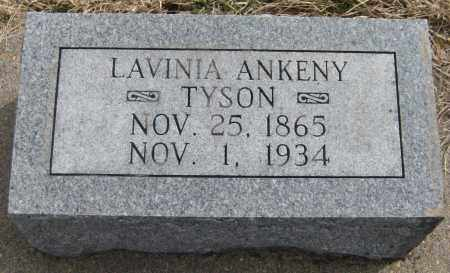 TYSON, LAVINA ANENY - Saline County, Nebraska | LAVINA ANENY TYSON - Nebraska Gravestone Photos