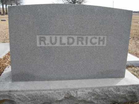 ULDRICH, FAMILY MONUMENT - Saline County, Nebraska   FAMILY MONUMENT ULDRICH - Nebraska Gravestone Photos