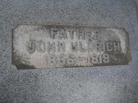 ULDRICH, JOHN - Saline County, Nebraska | JOHN ULDRICH - Nebraska Gravestone Photos