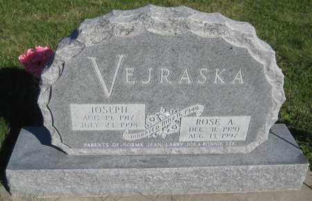VEJRASKA, JOSEPH - Saline County, Nebraska | JOSEPH VEJRASKA - Nebraska Gravestone Photos
