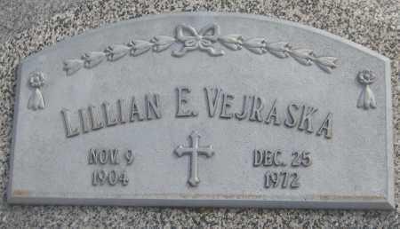 VEJRASKA, LILLIAN E. - Saline County, Nebraska | LILLIAN E. VEJRASKA - Nebraska Gravestone Photos