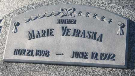 VEJRASKA, MARIE - Saline County, Nebraska | MARIE VEJRASKA - Nebraska Gravestone Photos