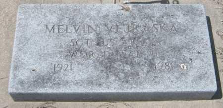 VEJRASKA, MELVIN - Saline County, Nebraska | MELVIN VEJRASKA - Nebraska Gravestone Photos