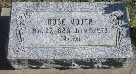 VOJTA, ROSE - Saline County, Nebraska | ROSE VOJTA - Nebraska Gravestone Photos