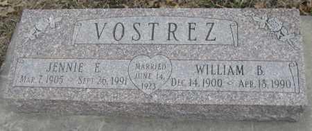VOSTREZ, WILLIAM B. - Saline County, Nebraska | WILLIAM B. VOSTREZ - Nebraska Gravestone Photos