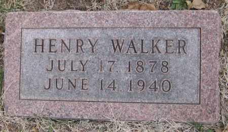 WALKER, HENRY - Saline County, Nebraska   HENRY WALKER - Nebraska Gravestone Photos