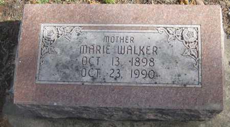 WALKER, MARIE - Saline County, Nebraska   MARIE WALKER - Nebraska Gravestone Photos