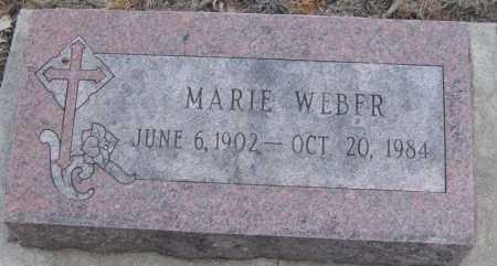 WEBER, MARIE - Saline County, Nebraska | MARIE WEBER - Nebraska Gravestone Photos