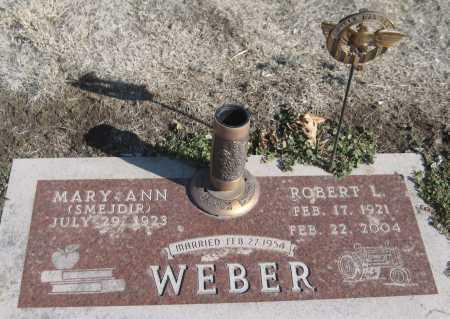 SMEJDIR WEBER, MARY ANN - Saline County, Nebraska   MARY ANN SMEJDIR WEBER - Nebraska Gravestone Photos
