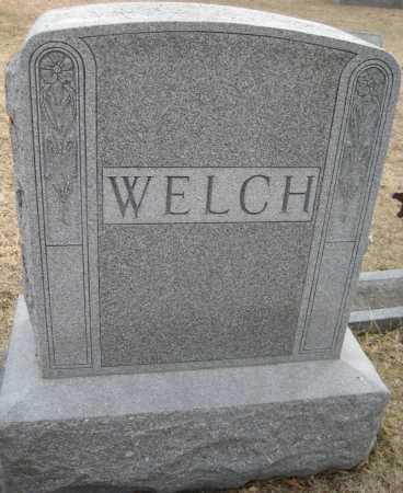 WELCH, FAMILY MONUMENT - Saline County, Nebraska | FAMILY MONUMENT WELCH - Nebraska Gravestone Photos