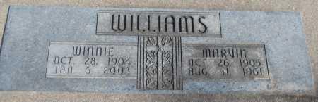 WILLIAMS, MARVIN - Saline County, Nebraska   MARVIN WILLIAMS - Nebraska Gravestone Photos