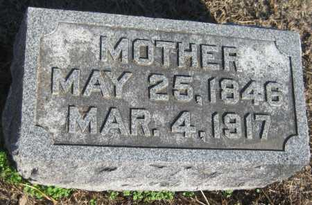 WINTERMUTE, MOTHER - Saline County, Nebraska   MOTHER WINTERMUTE - Nebraska Gravestone Photos
