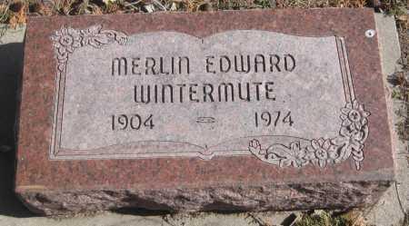 WINTERMUTE, MERLIN EDWARD - Saline County, Nebraska | MERLIN EDWARD WINTERMUTE - Nebraska Gravestone Photos
