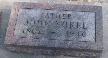 YOKEL, JOHN - Saline County, Nebraska | JOHN YOKEL - Nebraska Gravestone Photos