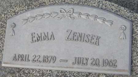 RADIL ZENISEK, EMMA - Saline County, Nebraska | EMMA RADIL ZENISEK - Nebraska Gravestone Photos
