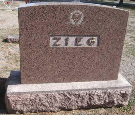 ZIEG, FAMILY MONUMENT - Saline County, Nebraska | FAMILY MONUMENT ZIEG - Nebraska Gravestone Photos