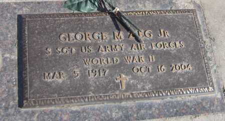 "ZIEG, GEORGE ""BUD"" M. JR. - Saline County, Nebraska   GEORGE ""BUD"" M. JR. ZIEG - Nebraska Gravestone Photos"