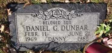 DUNBAR, DANIEL G. - Sarpy County, Nebraska   DANIEL G. DUNBAR - Nebraska Gravestone Photos