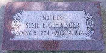 GEHRINGER, SUSIE E. - Sarpy County, Nebraska | SUSIE E. GEHRINGER - Nebraska Gravestone Photos