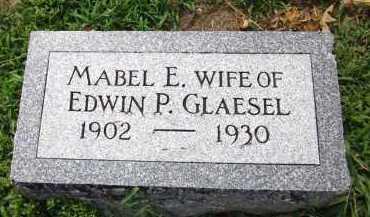GLAESEL, MABEL E. - Sarpy County, Nebraska   MABEL E. GLAESEL - Nebraska Gravestone Photos