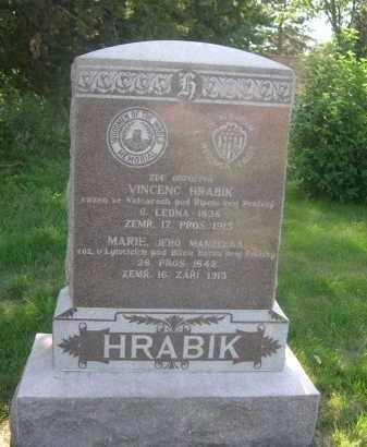 HARBIK, MARIE - Sarpy County, Nebraska | MARIE HARBIK - Nebraska Gravestone Photos