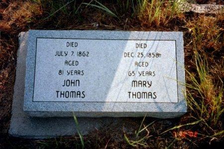 GILLISPIE THOMAS, MARY  - Sarpy County, Nebraska   MARY  GILLISPIE THOMAS - Nebraska Gravestone Photos