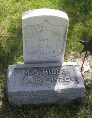 HILLS, STILLMAN - Saunders County, Nebraska | STILLMAN HILLS - Nebraska Gravestone Photos