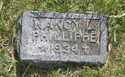 PHILLIPPE, NANCY - Saunders County, Nebraska | NANCY PHILLIPPE - Nebraska Gravestone Photos