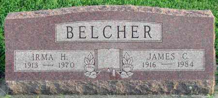 BELCHER, JAMES C. - Saunders County, Nebraska | JAMES C. BELCHER - Nebraska Gravestone Photos