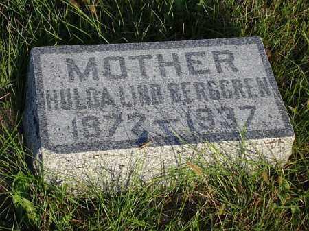 LIND BERGGREN, HULDA - Saunders County, Nebraska | HULDA LIND BERGGREN - Nebraska Gravestone Photos