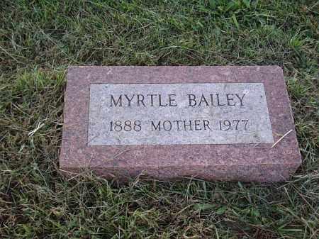BERGGREN, MYRTLE - Saunders County, Nebraska | MYRTLE BERGGREN - Nebraska Gravestone Photos