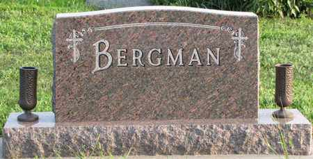 BERGMAN, (FAMILY MONUMENT) - Saunders County, Nebraska | (FAMILY MONUMENT) BERGMAN - Nebraska Gravestone Photos
