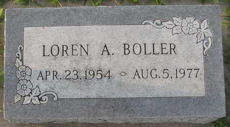 BOLLER, LOREN A. - Saunders County, Nebraska | LOREN A. BOLLER - Nebraska Gravestone Photos