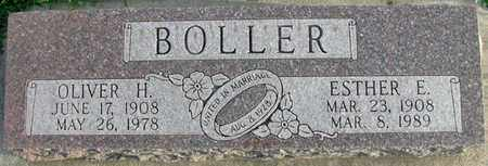 BOLLER, OLIVER H. - Saunders County, Nebraska | OLIVER H. BOLLER - Nebraska Gravestone Photos