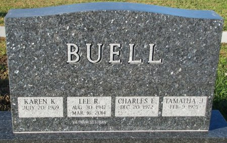 BUELL, LEE R. - Saunders County, Nebraska | LEE R. BUELL - Nebraska Gravestone Photos