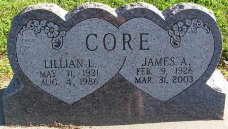 CORE, LILLIAN L. - Saunders County, Nebraska | LILLIAN L. CORE - Nebraska Gravestone Photos