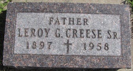 CREESE, LEROY G. SR. - Saunders County, Nebraska | LEROY G. SR. CREESE - Nebraska Gravestone Photos