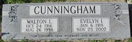 CUNNINGHAM, EVELYN I. - Saunders County, Nebraska | EVELYN I. CUNNINGHAM - Nebraska Gravestone Photos