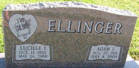 ELLINGER, ADAM E. - Saunders County, Nebraska | ADAM E. ELLINGER - Nebraska Gravestone Photos