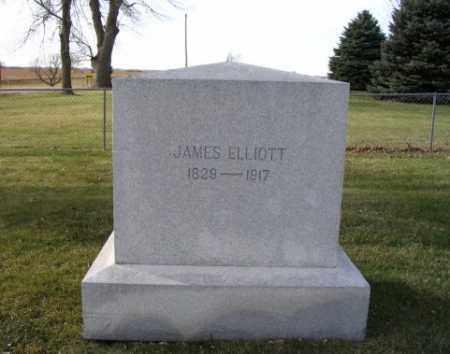 ELLIOTT, JAMES - Saunders County, Nebraska   JAMES ELLIOTT - Nebraska Gravestone Photos